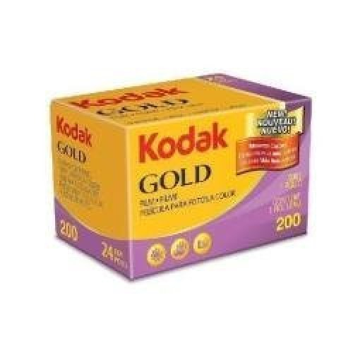 Kodak 603 3955 Gold 200 Color 35mm Negative Film ISO 200 24 Exposures