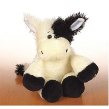 Webkinz Pug Teddy - 21cm, Black & White