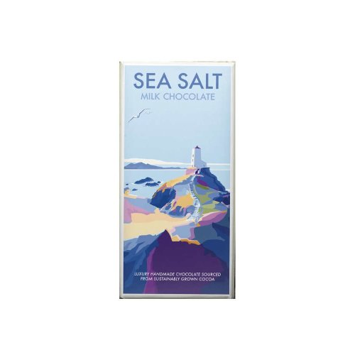 Kernow Sea Salt Milk chocolate bar 100g