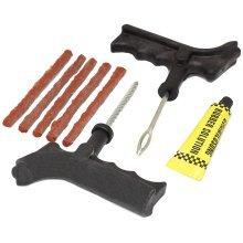 Motorcycle Car Tubeless Tyre Puncture Repair Kit Tire Tool Plug Emergency