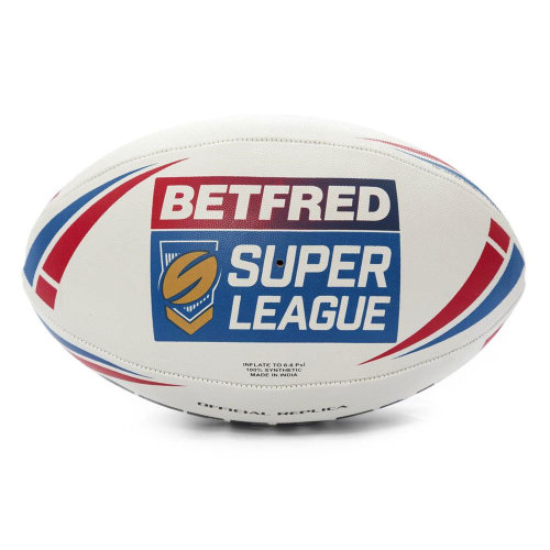 Steeden Betfred Super League 2019 Replica Official Rugby League Ball White