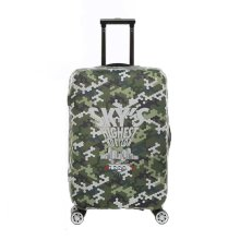 Travel Case Luggage Cover Dust Prevent Suits for 18-20 Inch Luggage-Green