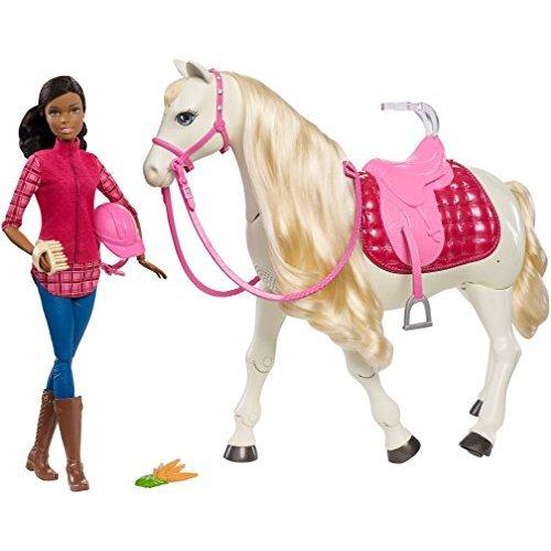 Barbie Dream Horse & Black Hair Doll