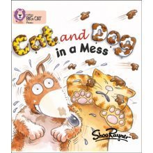Collins Big Cat Phonics - Cat and Dog in a Mess: Band 02A/Red A: Red A/Band 2A (Paperback)