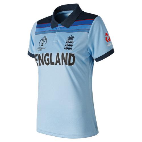 2019 ECB England Cricket World Cup ODI Shirt, Womens
