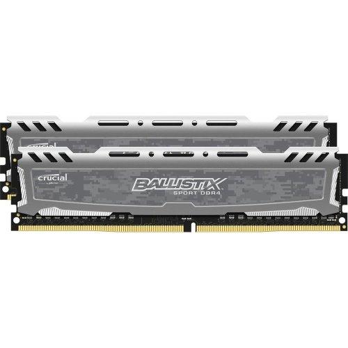 Crucial Ballistix Sport LT 32Gb 2x16Gb DDR4 2400MHz Kit-Grey