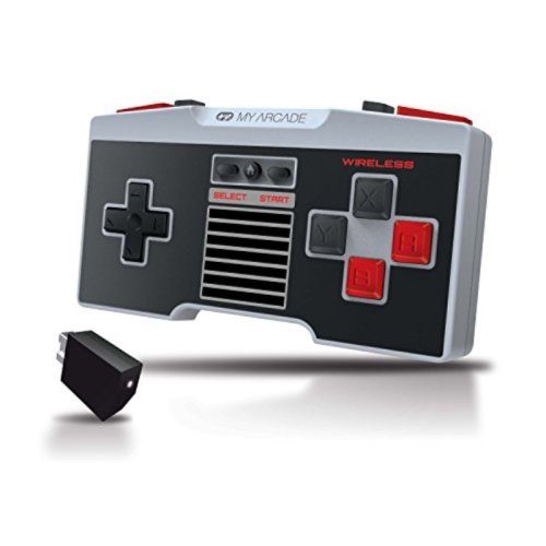 My Arcade GamePad Pro - Wireless, Advanced, Ergonomic Controller for the NES Classic Edition
