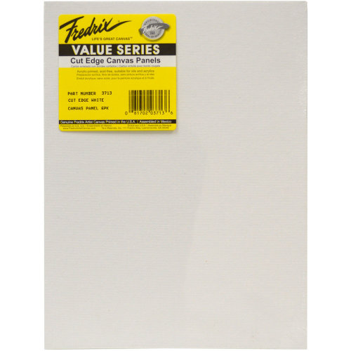 "Tara Fredrix Cut Edge Canvas Panel 6/Pkg-9""X12"""
