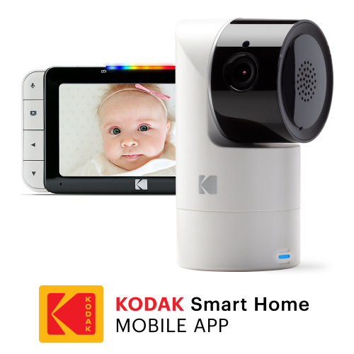 KODAK Cherish C525 WiFi Video Baby Monitor with Mobile App - Baby Monitor with Camera
