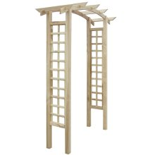 Trellis Arch 150 x 50 x 220 cm Wood