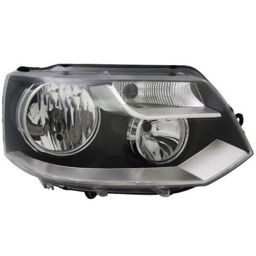 Headlight right twin reflector VW Transporter Caravelle T5 10-15 LHD