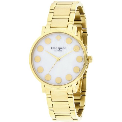 Kate Spade New York Gramercy Dot Gold-Tone Ladies Watch 1YRU0737
