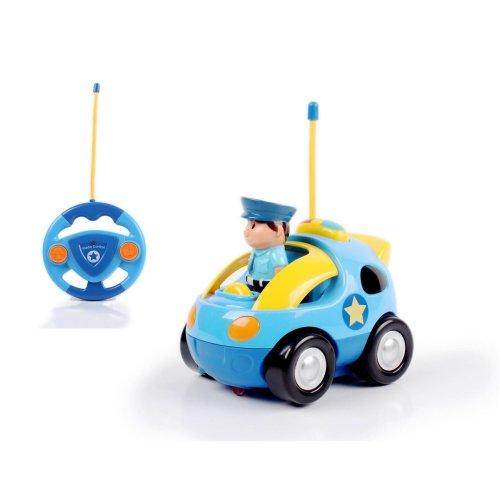 Vinsani My First Radio Remote Controlled Police Car - Dark Blue