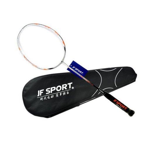 Pro Badminton Racquet Restrung Carbon Fiber Rackets with Bag