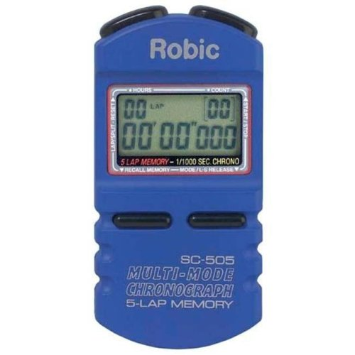 Olympia Sports TL180P Robic SC-500 5 Memory Timer - Blue