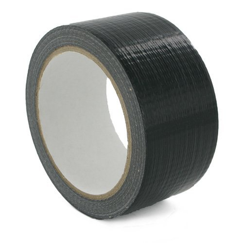 50mm Black Cloth Tape (Gaffer Tape)