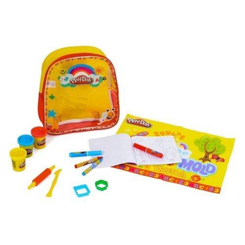 Sambro Playdoh Activity Backpack (Yellow)