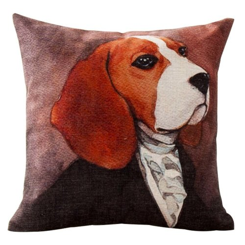Animal Portrait Sofa Home Decor Design Sofa Cushion(Insert Included)
