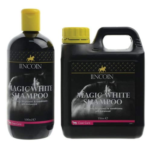 Lincoln Magic White Horse Grooming Shampoo, 1 Litre