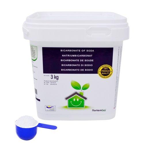 Bicarbonate of Soda NortemBio 3kg, Ecologic Input of Natural Origin