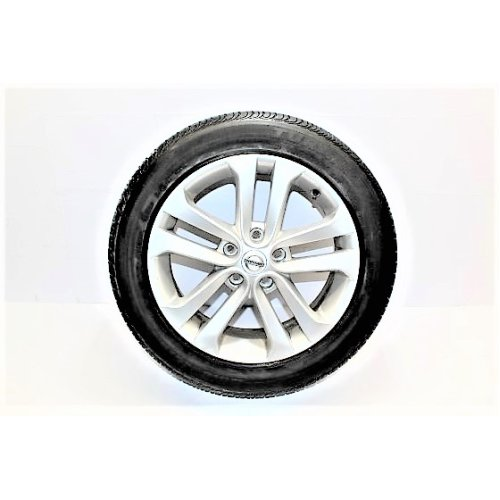 2012 NISSAN JUKE ALLOY WHEEL WITH TYRE 215 / 55 / R17 3.2MM