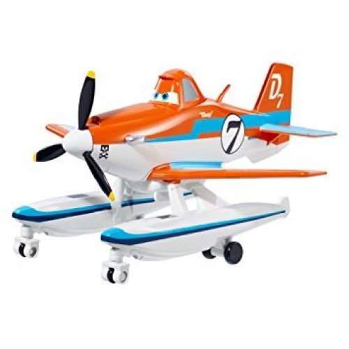 Disney Pixar Planes Fire and Rescure Deluxe Pontoon Dusty