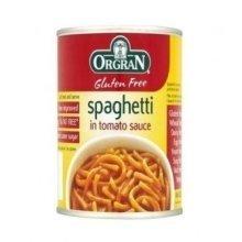 Orgran - Spaghetti in Tomato Sauce Tin 220g
