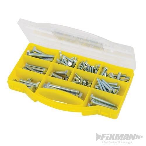 Fixman High Tensile Bolts Pack 145pce -  fixman high tensile bolts pack 145 pieces