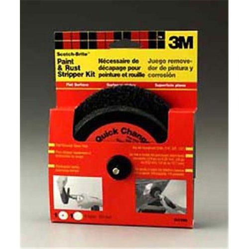 3m Scotch-Brite Paint & Rust Stripper Kit Flat Surface 9419NA