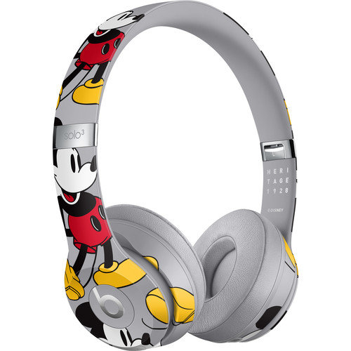 Beats Solo3 Wireless Headphones Mickeys 90th Anniversary Edition
