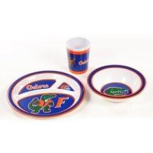 NCAA Florida Gators Kids Dish Set (3-Piece)