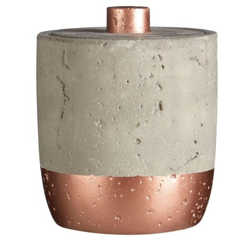 Neptune Copper Cotton Jar 400ml