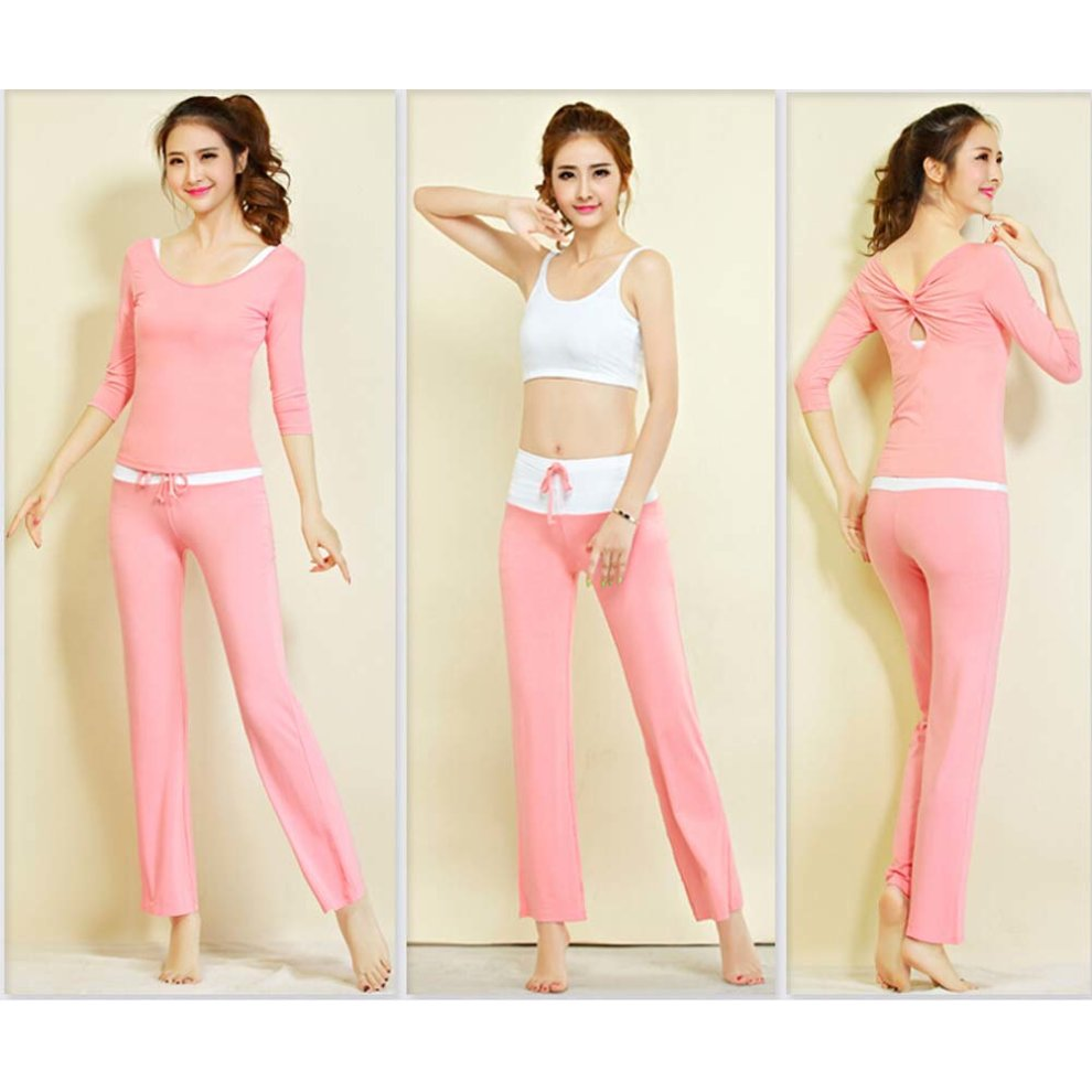 4f090336108c ... Womens Fitness Dance Yoga Wear Set 3 Pieces Fitness Yoga Apparel Dance  Outfit - 1. >