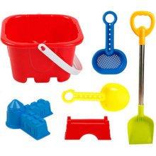 Kid's Beach Sand Toys Baths Pools Set 6PCS
