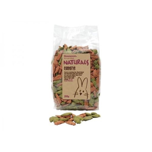 Rosewood Carrotys Treat for Small Animals 200g