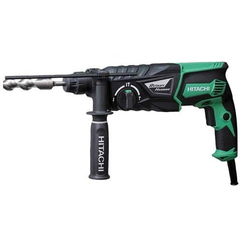 Hitachi DH26PX 26mm 240V SDS Plus Rotary Hammer Drill and Side Handle