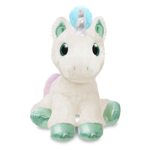 Aurora World 60897 Bubbles Cream Unicorn 12In