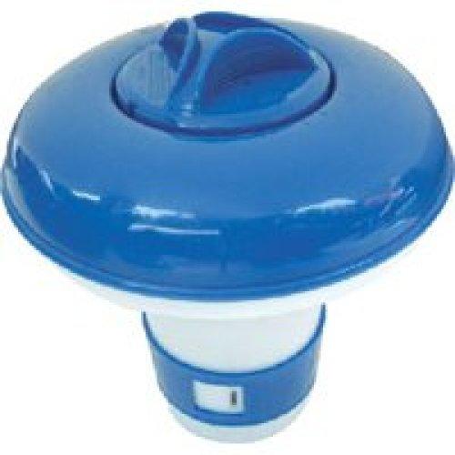 Floating Chlorine / Bromine tablet dispenser - Small 20g / 1in tablets