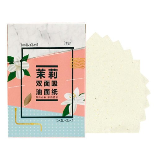 Men Women Summer Oil Control Blotting Paper Skin Blotting Paper 300 Sheets, Jasmine Scent