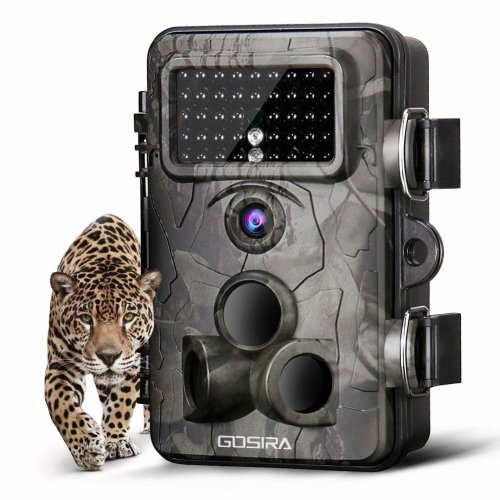 Gosira Wildlife Trail Camera 12MP 1080P 0.4s Trigger 940nm Updated 42pcs Infrared LED Night Vision 20M/65FT Motion Activated Sensor Game Cam...