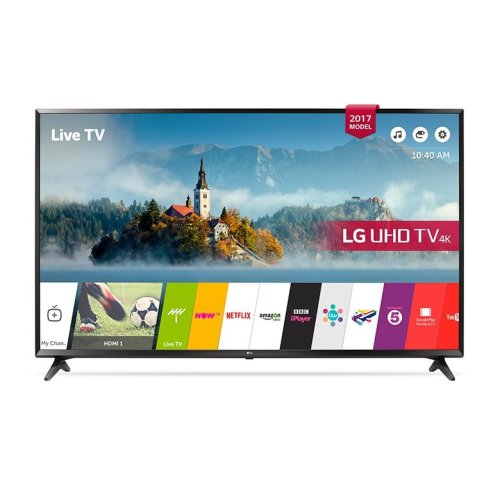 LG 55UJ630V 55 Inch SMART 4K Ultra HD HDR LED TV Freeview Play USB Rec