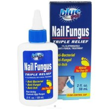 Blue Goo Nail Fungus Triple Relief 2 Fl Oz