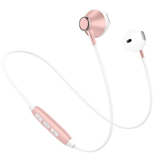 a0c2a10689b Bluetooth Headphones Stereo Wireless Headphones Lightweight Sports Earphones  with HD Mic, IPX4 Swearproof Magnetic Earbuds Comfy&Anti-Fall off... on  OnBuy