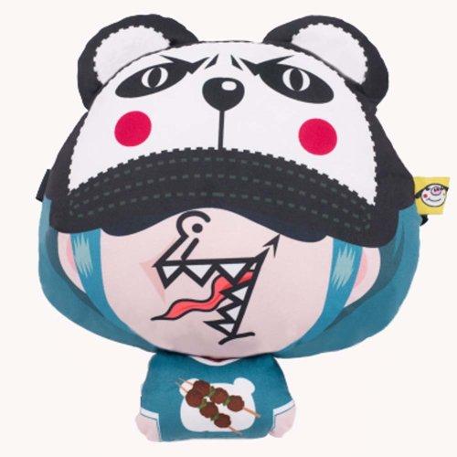 Comfortable Cute Cartoon Car Pillow Auto Accessories Car Headrest Neck Pillow