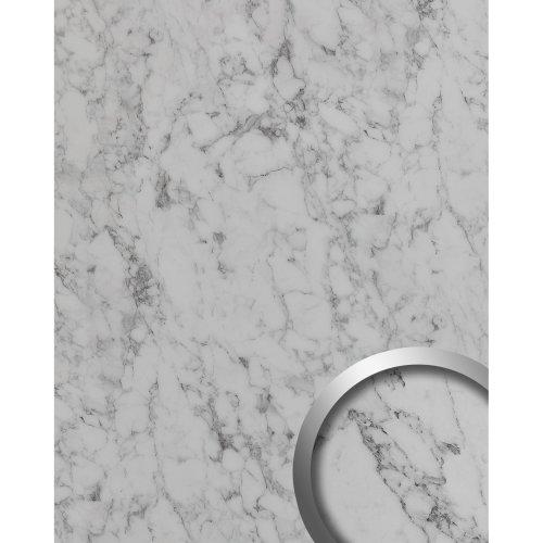 WallFace 19566 Antigrav MARBLE White Decor panel stone look matt white 2,6 m2