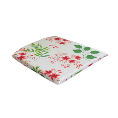 [LEAVES&FLOWERS] Beige Back Comfortable Chair Pad 40*40CM Square Chair Cushion