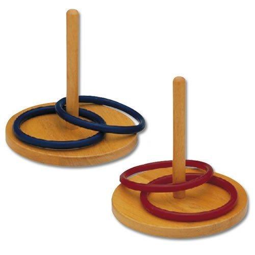 Wooden Ring Toss Set