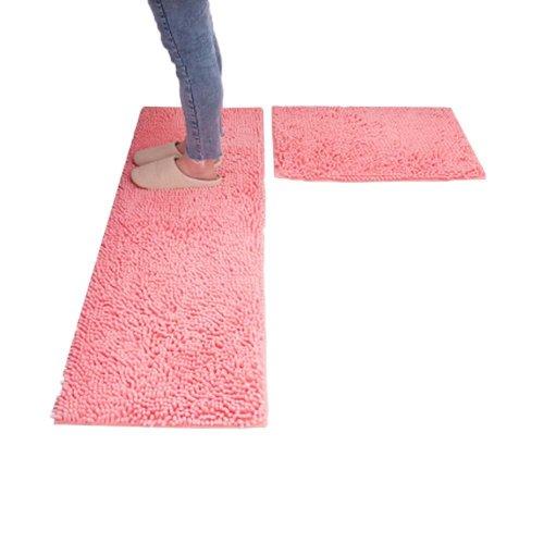 Kitchen Mats Long Absorbent Foot Pad Bathroom Non-slip Doormat Bedroom Carpet_A19