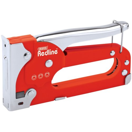 Draper Redline Staple Gun - 68700 - Comes with 8mm Staples