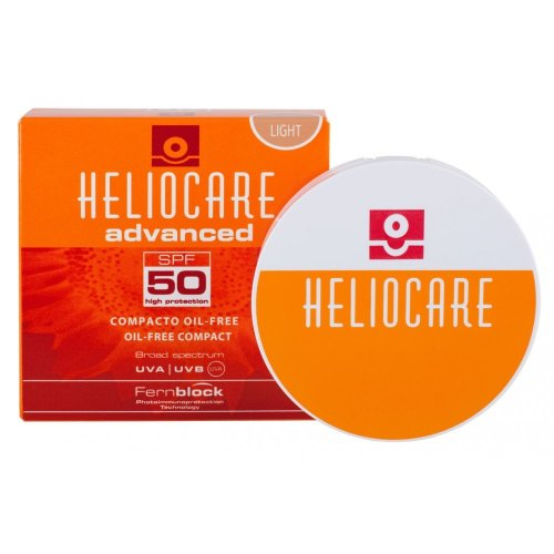 Heliocare Compact Oil Free SPF50 10g Light